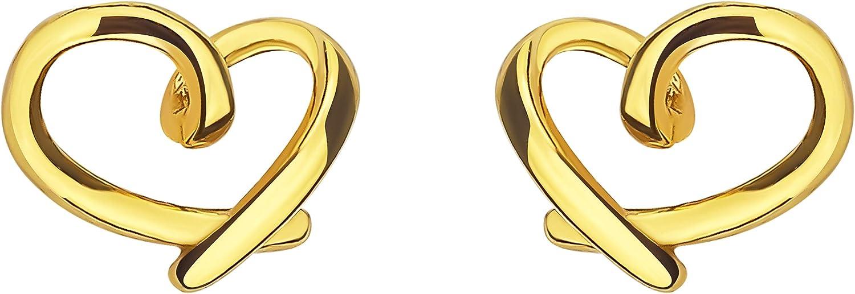 SOFIA MILANI Orecchini da donna a forma di cuore in argento