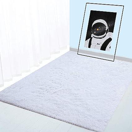 Boyasen Ultra Soft Indoor Modern Area Rugs Fluffy Living Room Carpets For Children Bedroom Home Decor Nursery Rug 2 X 3 Ft White Buy Online At Best Price In Uae Amazon Ae