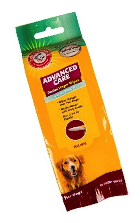Arm & Hammer Dog Dental Pet Care Dental Finger Wipes for Dogs