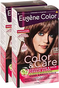 Eugène Color - Tinte - 6.35-6 ml - Lote de 2