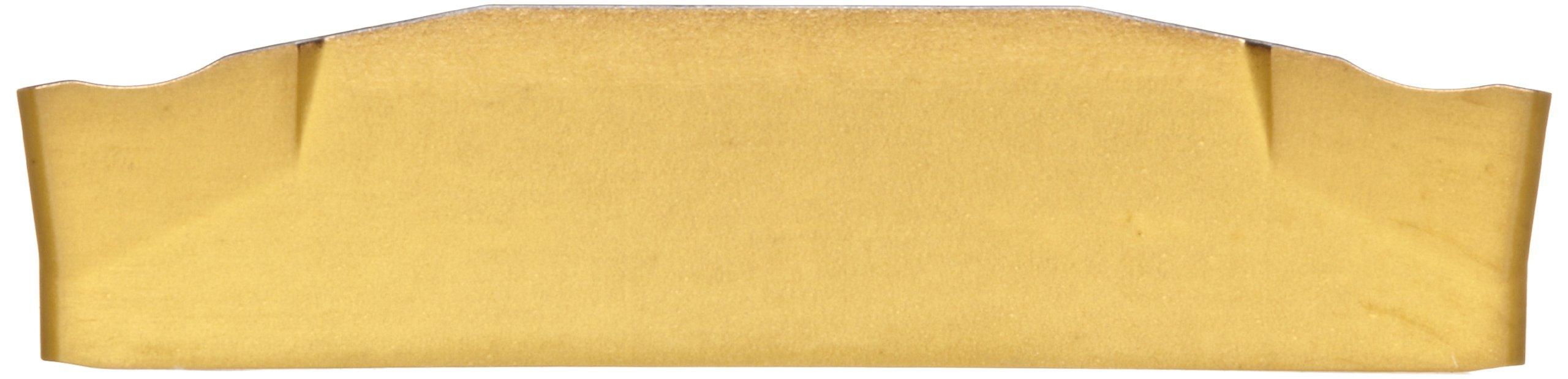 Sandvik Coromant CoroCut 2-Edge Carbide Parting Insert, GC2135 Grade, Multi-Layer Coating, CR Chipbreaker, 2 Cutting Edges, N123H2-0400-0003-CR, 0.0118'' Corner Radius, H Insert Seat Size (Pack of 10) by Sandvik Coromant (Image #2)