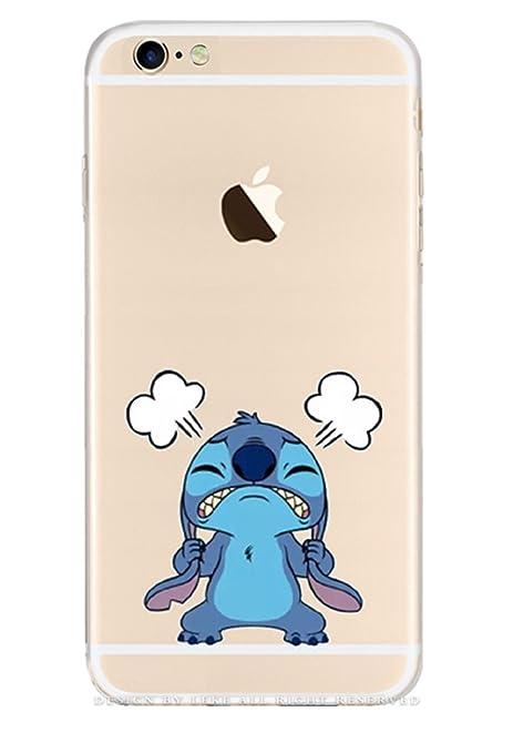 Blue Stitch Funda Para iPhone 6/ 6s 4.7-inch3d Cartoon Anim