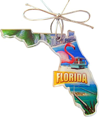 Amazon Com Westmon Works Florida Christmas Ornament Acrylic State Shaped Decoration Gift Made In The Usa Furniture Decor