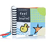 Amazing Baby Feel and Learn Soft Teether Book