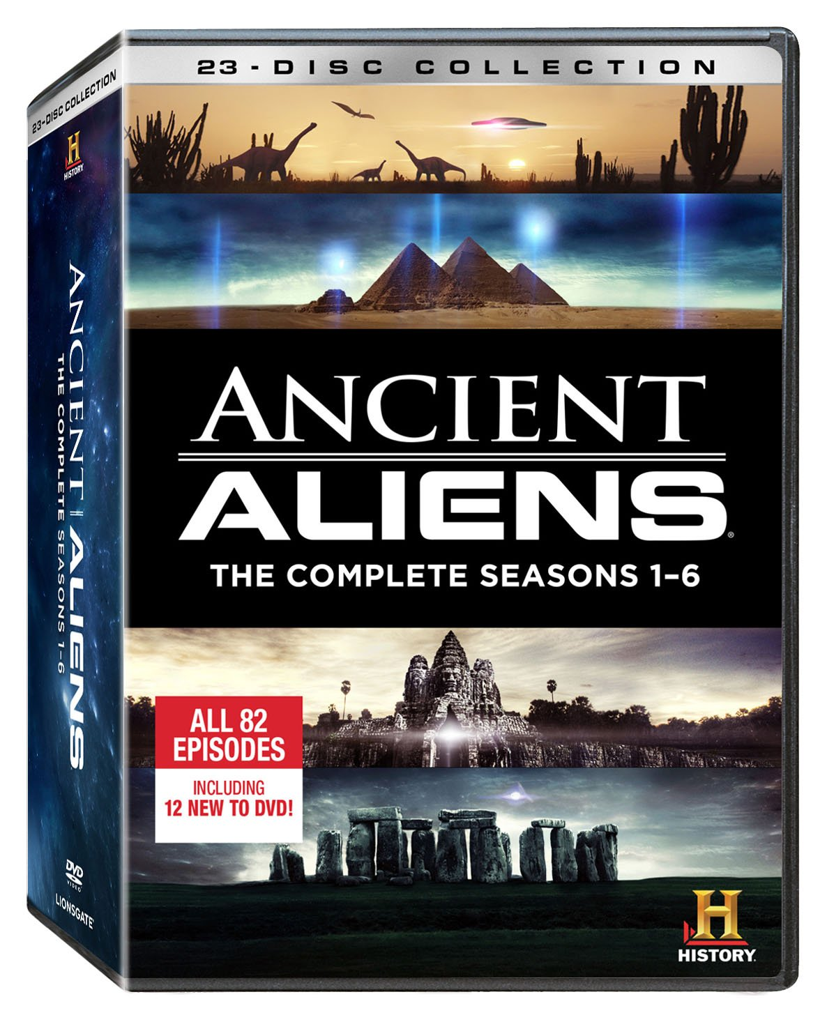 Ancient Aliens: The Complete Seasons 1-6 [DVD] by LIONSGATE