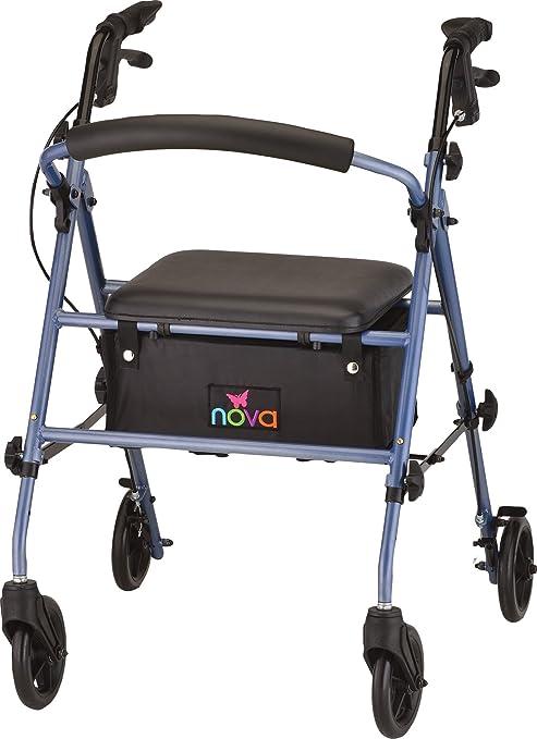 Amazon.com: NOVA Medical Products Journey - Andador de acero ...