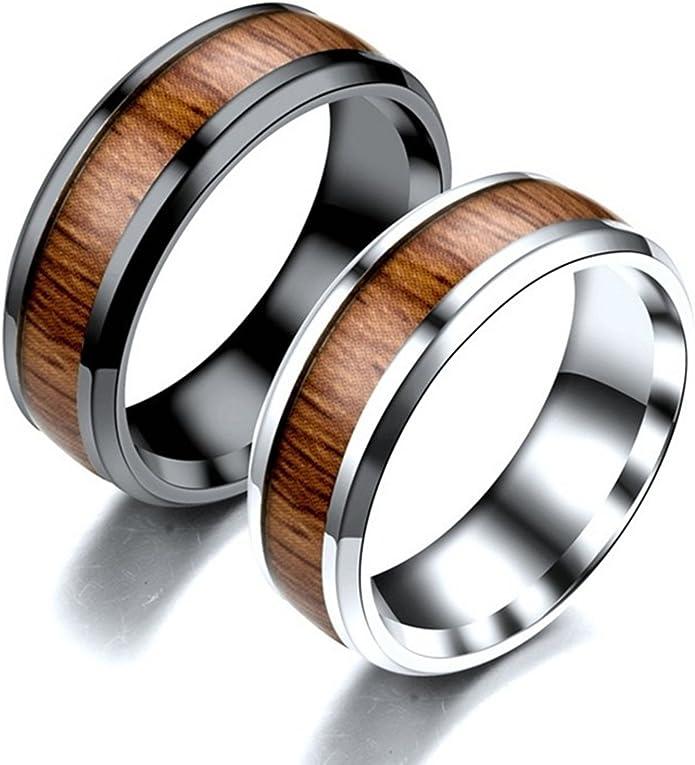 Xshuai /® Bague de mariage en carbure de tungst/ène plaqu/é or et argent Motif dragon celtique