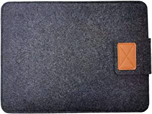 Portable Foldable Laptop Stand Sleeve- 13 Inch, Felt Laptop Sleeve Case, Shockproof Laptop Bag