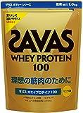 ザバス(SAVAS) ホエイプロテイン100 バニラ味 1kg