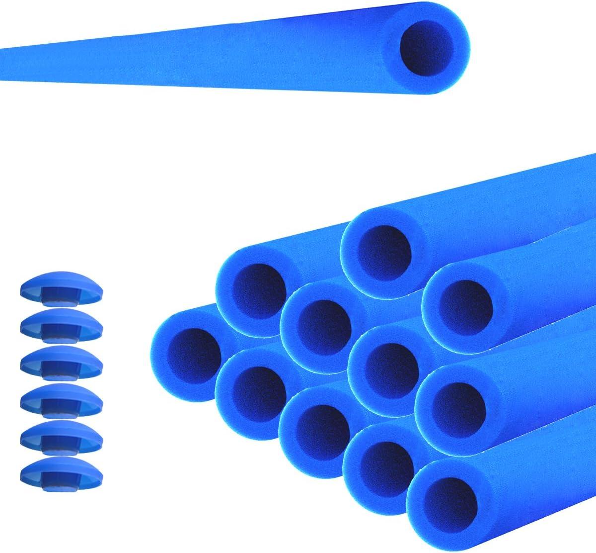 12 x cama elástica tubos de espuma cojín 84 cm para 6 barras de ...