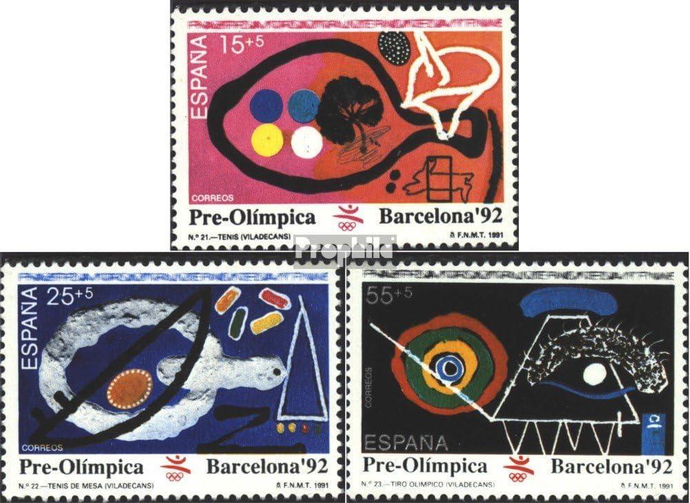Prophila Collection España Michel.-No..: 3008-3010 (Completa.edición.) 1991 Juegos olímpicos (Sellos para los coleccionistas) Juegos Olímpicos: Amazon.es: Juguetes y juegos