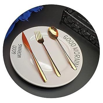 Amazon.com: Juego de cuchillos de cocina de acero inoxidable ...