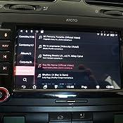 2X Bluetooth Auto Multimedia Radio A6 Pro A6Y1021PR WiFi Lectura 256G SD Carga r/ápida Nuevo con aptX Est/éreo ATOTO 10 DIN Double DIN Android para autom/óvil Pantalla IPS