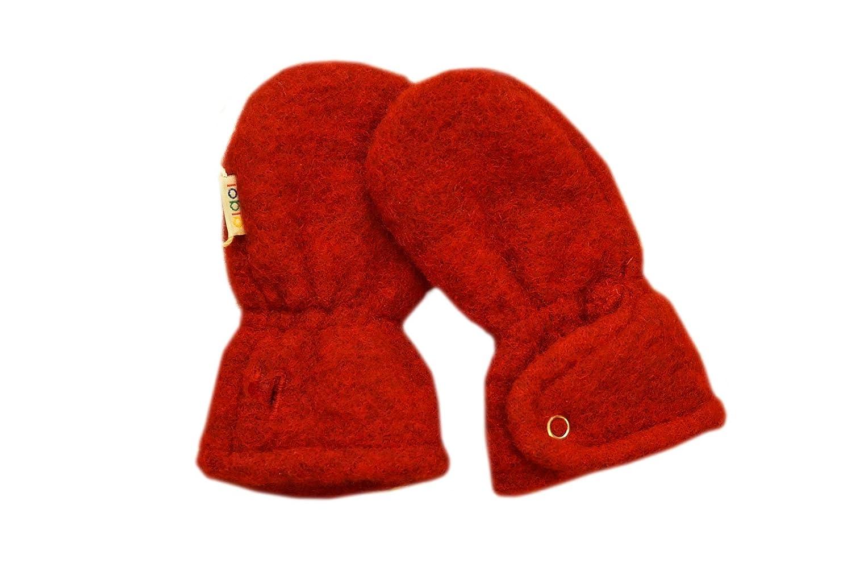 Iobio Mittens 100% WOOL newborn baby organic scratch fleece winter