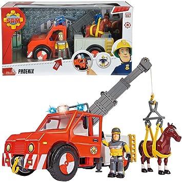Sam, el bombero Phoenix Vehículo Rescate de Animales   con Luz ...