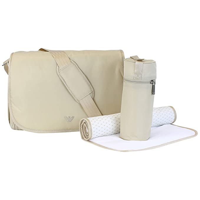 Armani Baby Bolso cambiador 00055 BEIS - Beige, One size ...