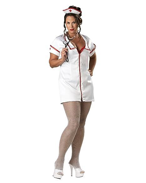 Amazon.com: Sexy disfraz de enfermera Enfermera Uniforme de ...