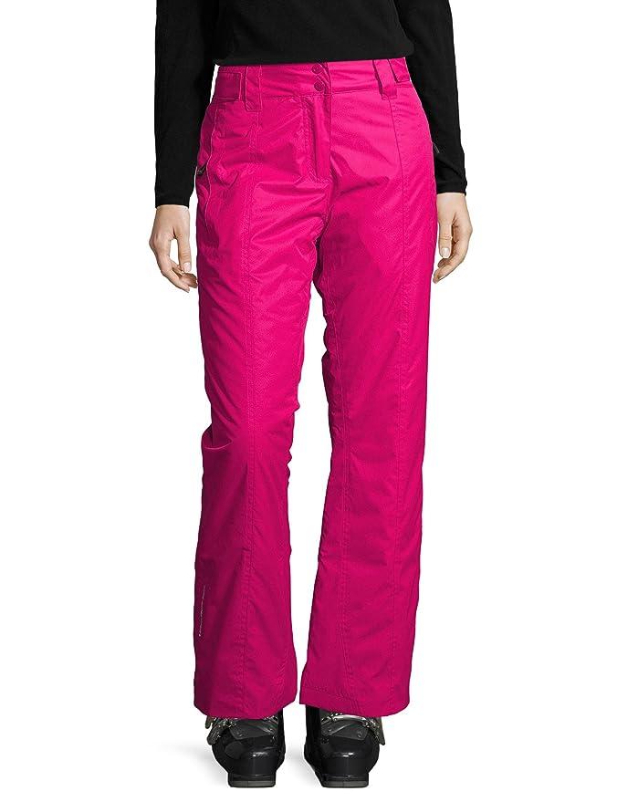Pantalon de esquí neón de invierno para mujer