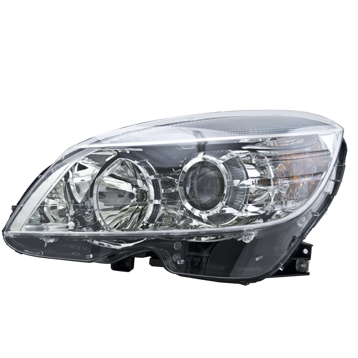 PartsChannel KEYMB2502162 OE Replacement Headlight Assembly MERCEDES C300