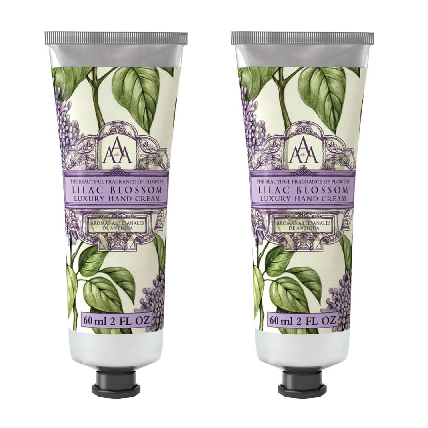 Somerset Toiletry Co. AAA Floral Hand Cream 2-Piece Set - Lilac Blossom by Aromas Artisanales de Antigua (Image #1)