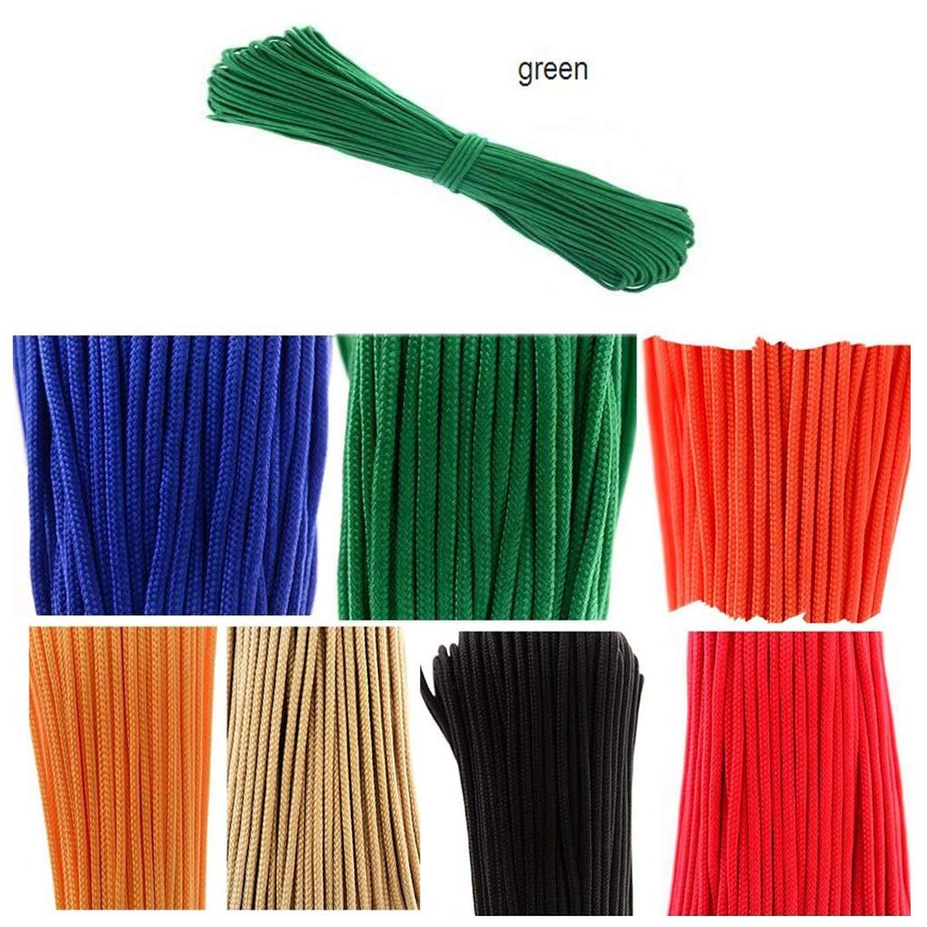 Army Green Diameter 3 mm 30 M 12 Mm Diameter Mutiluse Home Rope,Professional Climbing Aids Rope,Rappelling Abseiling Rope Outdoor Escape High Resistance Rope ,10 colors Optional (color   Red, Size   Diameter 8 mm 30M)