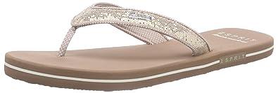 ESPRIT Damen Zehenteiler Glitter beige Kua5W3OX8D