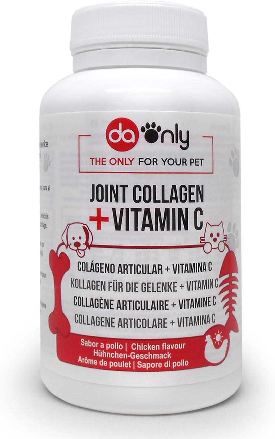 DAONLY Antiinflamatorio para perros sabor a pollo, alternativa natural a medicamentos para perros, cuidado de las articulaciones como los condroprotectores para perros, colageno articulaciones natural