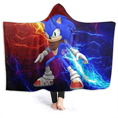Sonic Sonic Blanket Super Soft and Warm Lighewieght Flannel Bedding Article Throws Blankets for Bed Couch Childrens Bedroom in Winnter,40 x 60 Inch