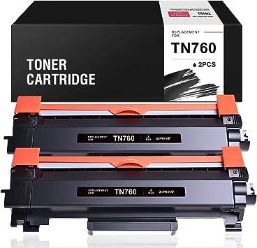 12 Pack TN760 Toner for Brother TN730 DCP-L2550DW MFC-L2710DW L2750DW HL-L2350DW
