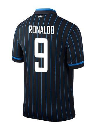 Amazon.com  Ronaldo  9 Inter Milan Home 2014 2015  Clothing 26449e7e9