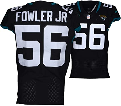 new style 5a9a5 0a445 Dante Fowler Jr. Jacksonville Jaguars Game-Used Black #56 ...