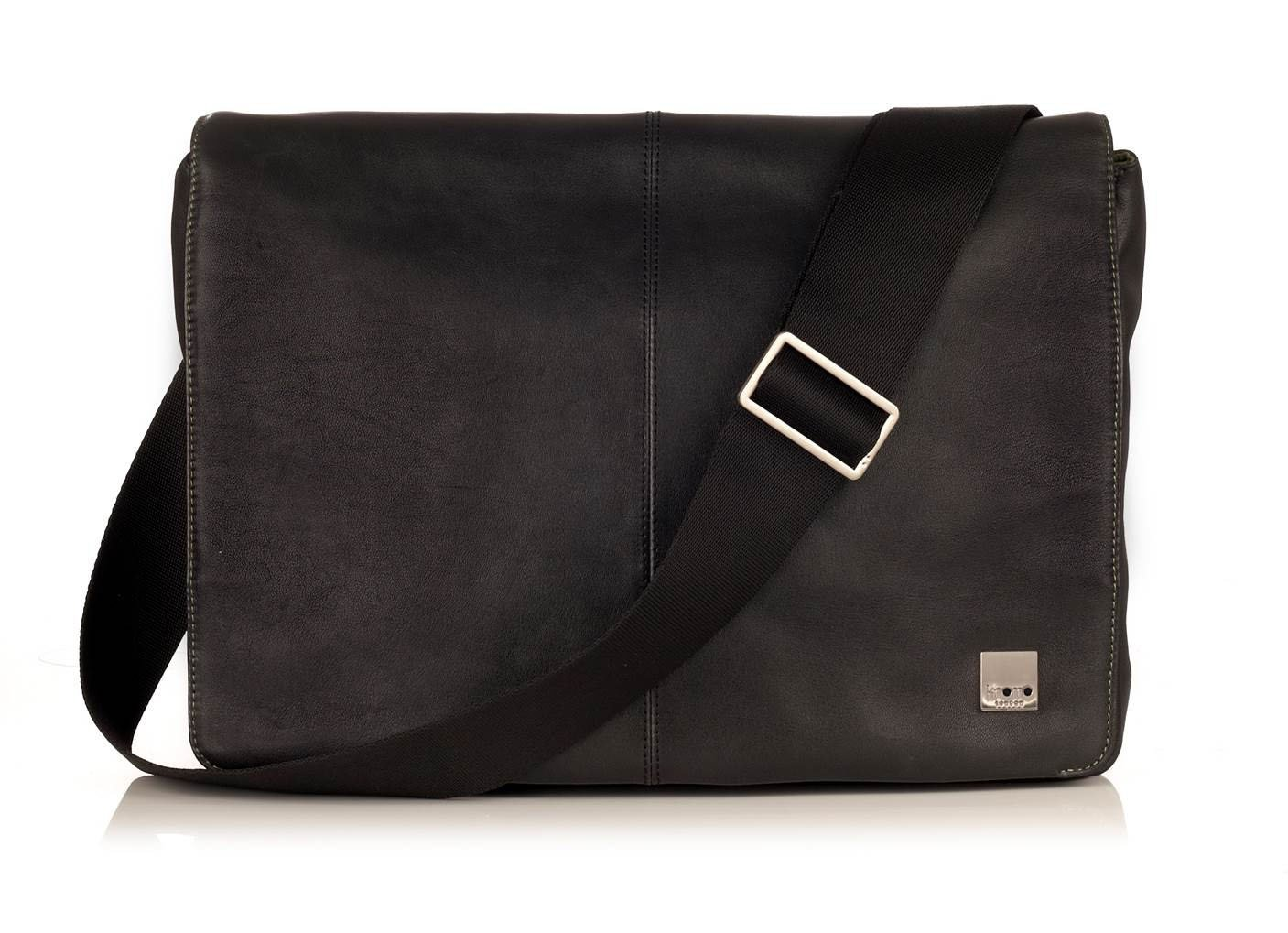 Knomo Brompton Kinsale 54-300 Cross Body Bag (One Size, Ebony Black)