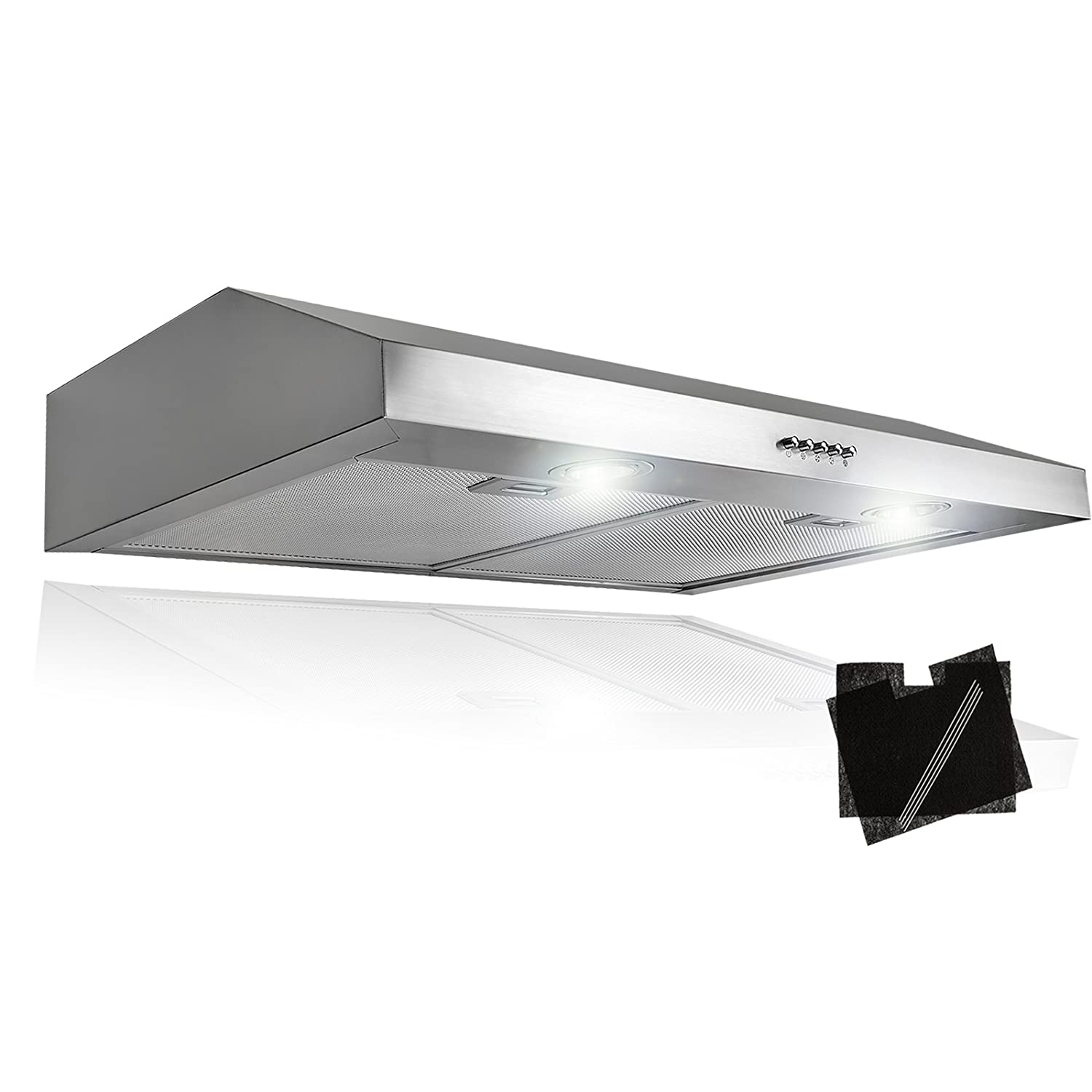 Akdy 30 Stainless Steel Under Cabinet Kitchen Grease Filters Range Hood Ebay