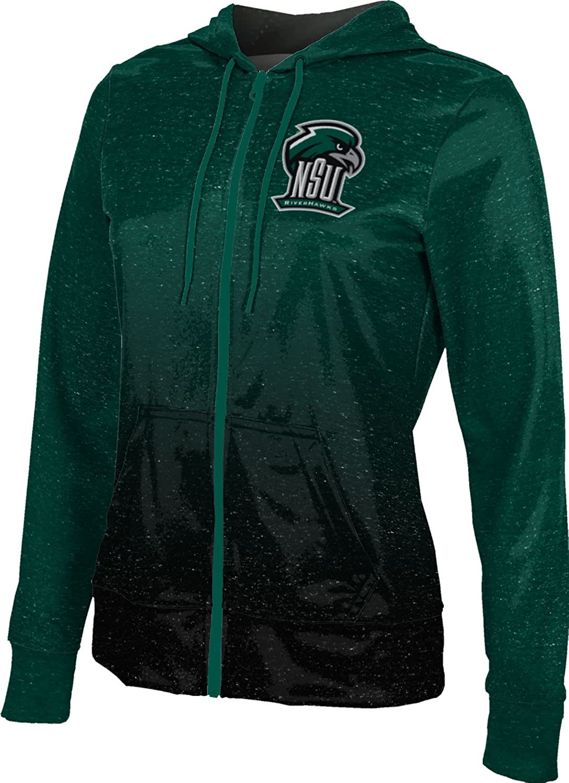 School Spirit Sweatshirt ProSphere Northeastern State University Girls Zipper Hoodie Ombre