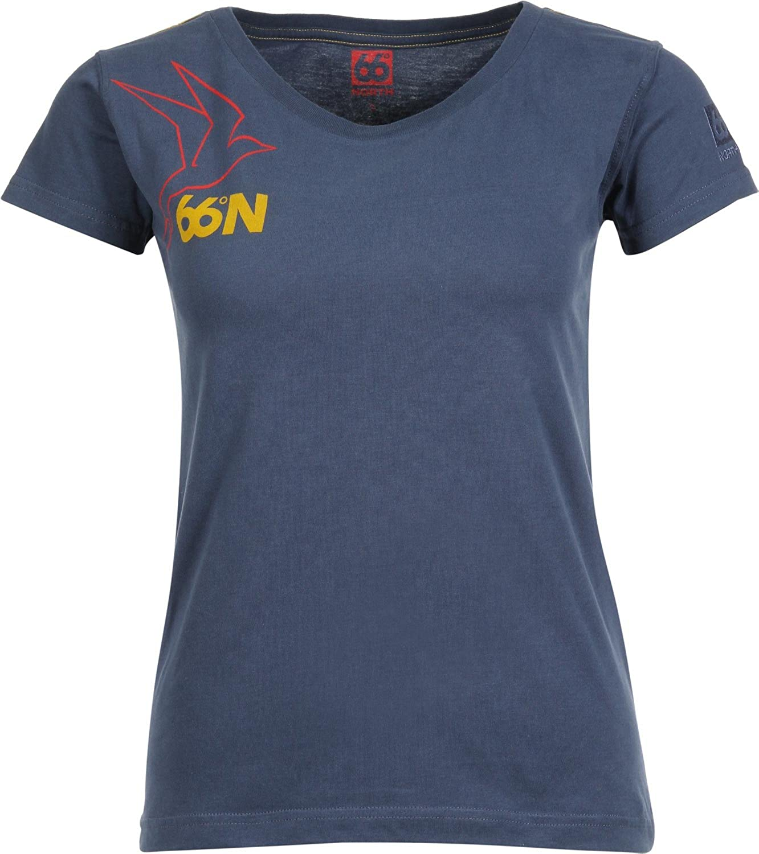 66 North Iceland Damen T-shirt Logn W Kria