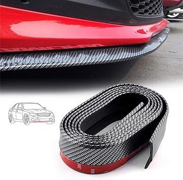 Frontspoiler Volwco 98 2 5 M Universal Kohlefaser Auto Vorne Stoßstange Aufkleber Lippe Gummi Rock Beschützer Für Auto Lkw Suv Diy Dekoration Auto