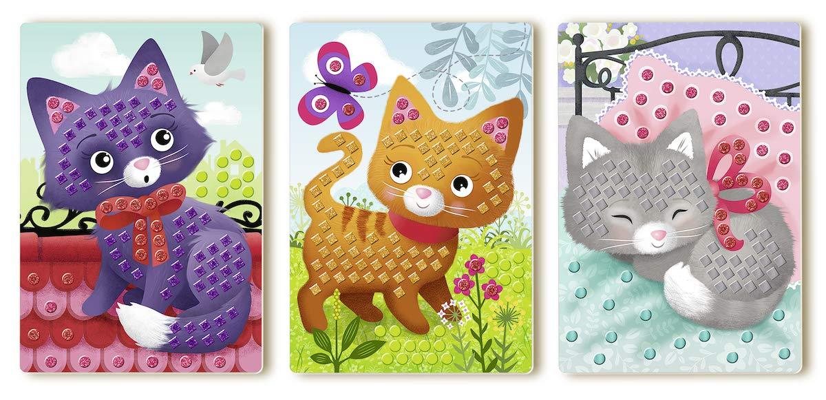 Cats Basteln Spiel Deutsch 2019 Mosaic Junior Sonstige Kreativsets für Kinder Bastel- & Kreativ-Bedarf für Kinder