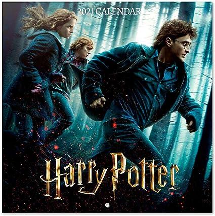 Grupo Erik CP21026 Calendario 2021 da Muro Harry Potter