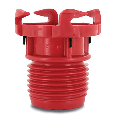 Valterra F02-3101 Red Bulk EZ Coupler Valve Adapter: Automotive