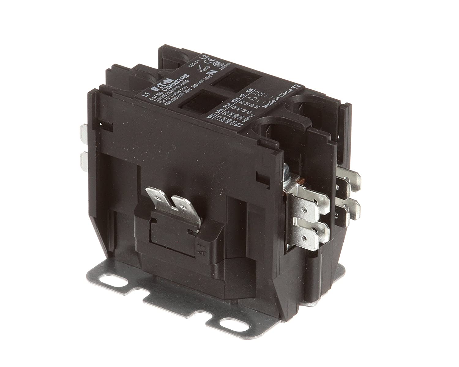 Champion - Moyer Diebel 116168 Contactor, Two Pole, 40 A, 240V