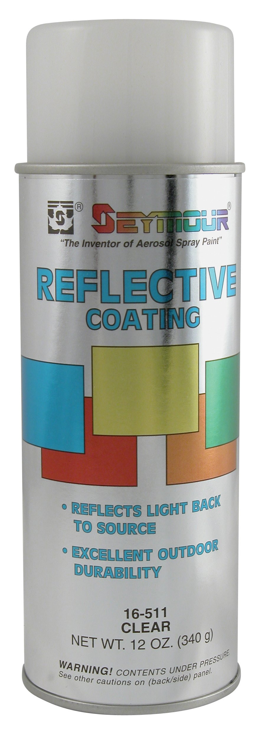 Seymour 16-511 Reflective Water-Based Coatings, Clear