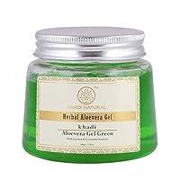 Khadi Natural Aloevera Gel, Green, 200g
