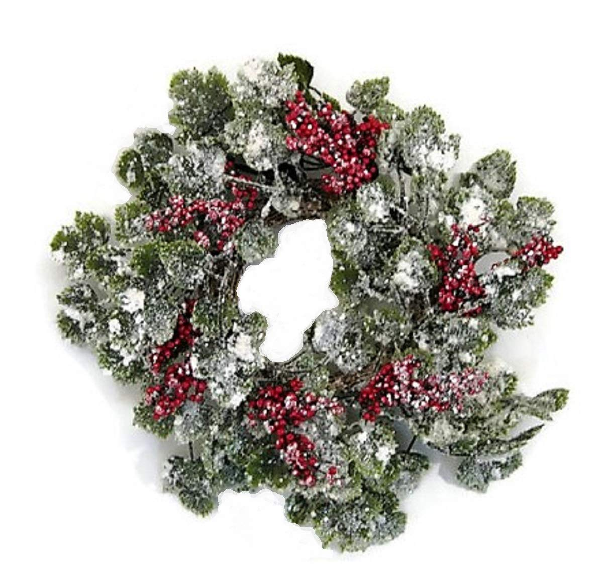 JMB Christmas Snow Covered Ivy Vine Wreaths 72 Garland Garland Candle Ring or Hurricane Centerpiece Buyers Choice of Item and Size Candle Ring or Hurricane Centerpiece Buyer/'s Choice of Item and Size 72 Garland Chinese Unknown 14543093