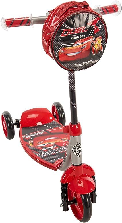 "Amazon.com: Disney Pixar Cars 3 Boys ""3-Wheel Scooter ..."