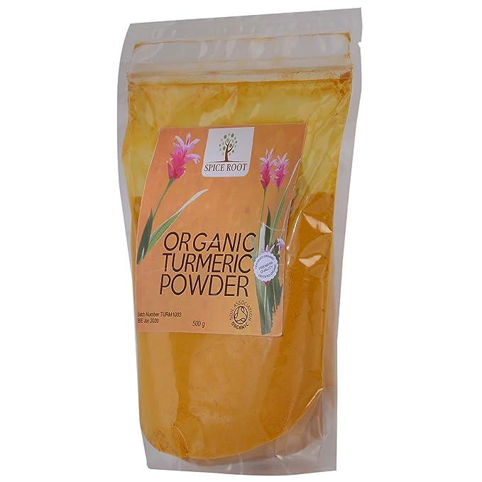 Polvo de cúrcuma orgánico 500g - Bio curcuma polvo: Amazon.es: Alimentación y bebidas