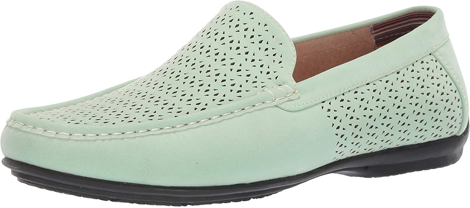 Max 86% OFF STACY ADAMS Men's Cicero Perfed Moc Slip-on Lo Ranking TOP9 Toe Style Driving