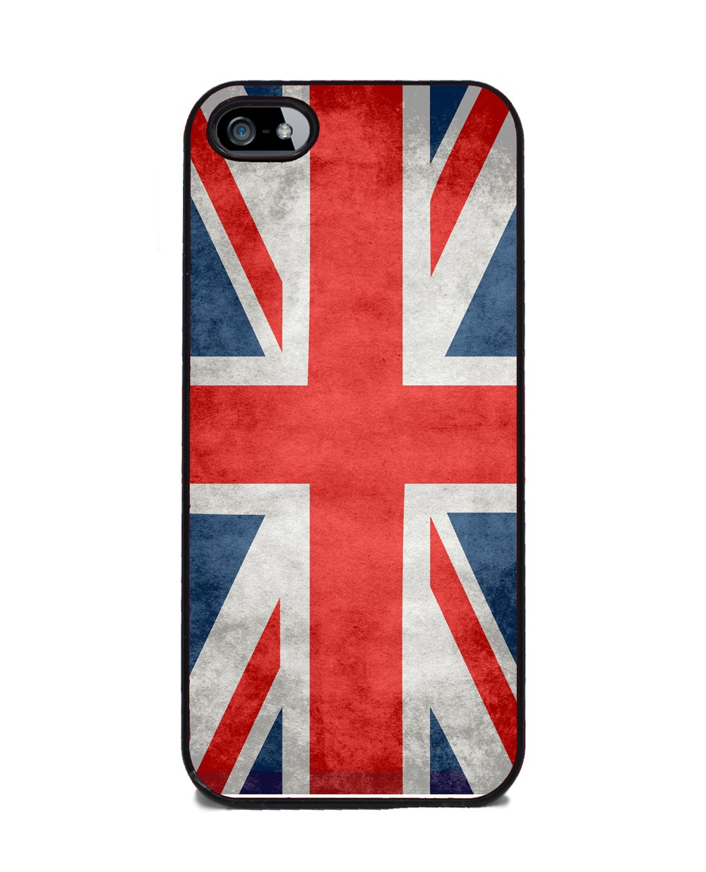 amazon com british flag union jack iphone 5 or 5s cover cell
