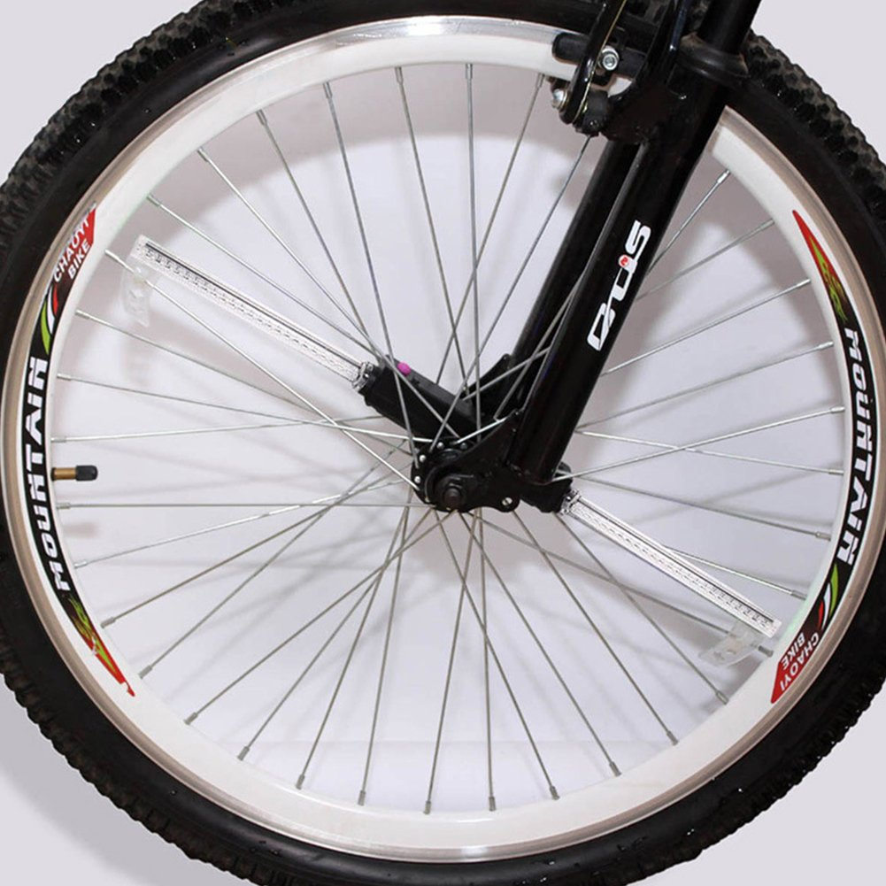 Meiyiu Bicycle Wheel Light 32 Patterns 36 LED Flash Spoke Tire Waterproof Light for Road MTB Mountain Bike by Meiyiu (Image #4)