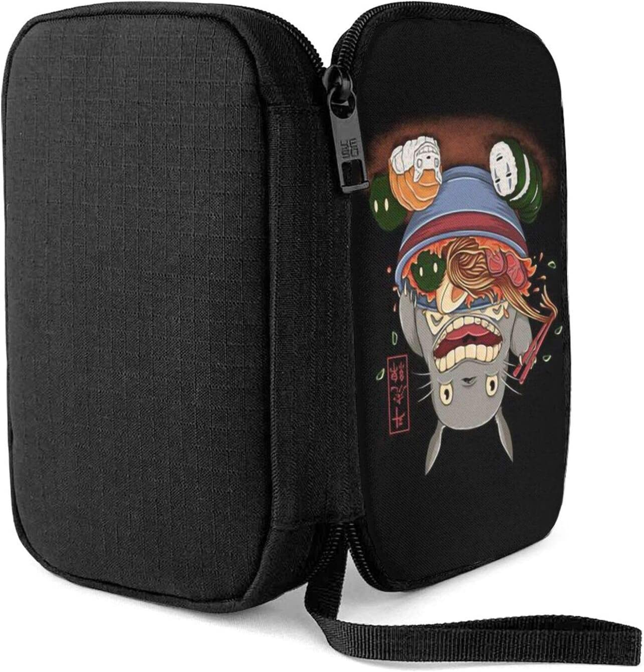 Earphone and Electronic Product Data Cable Storage Bag Hxuedan Studio Ghibli Anime Art The Data Cable Storage Bag is A Portable and Independent Design SuitableVFor Travelers to Place The Data Cable