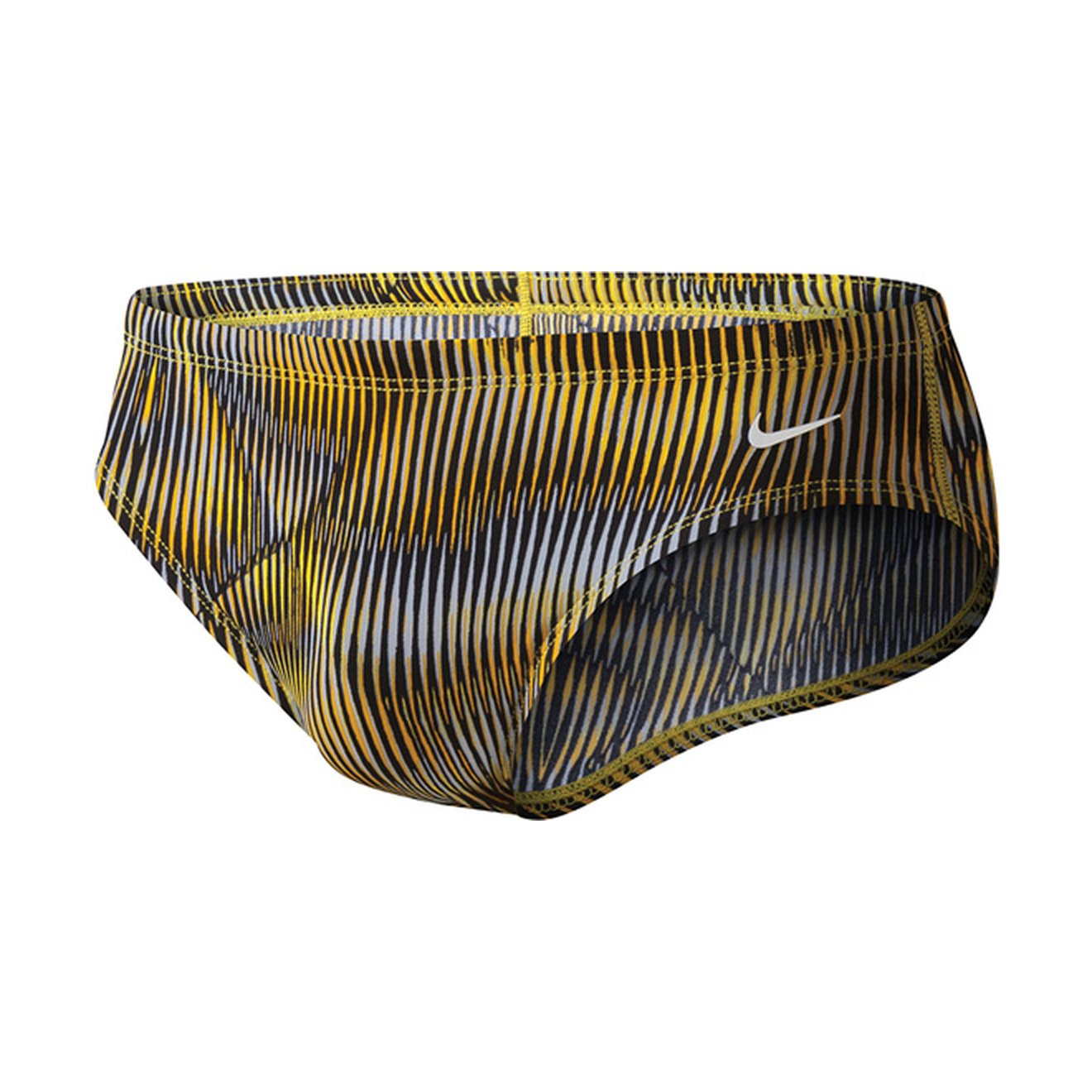 Nike Vibe Performance Poly Brief Male Varsity Maize 32 by Nike